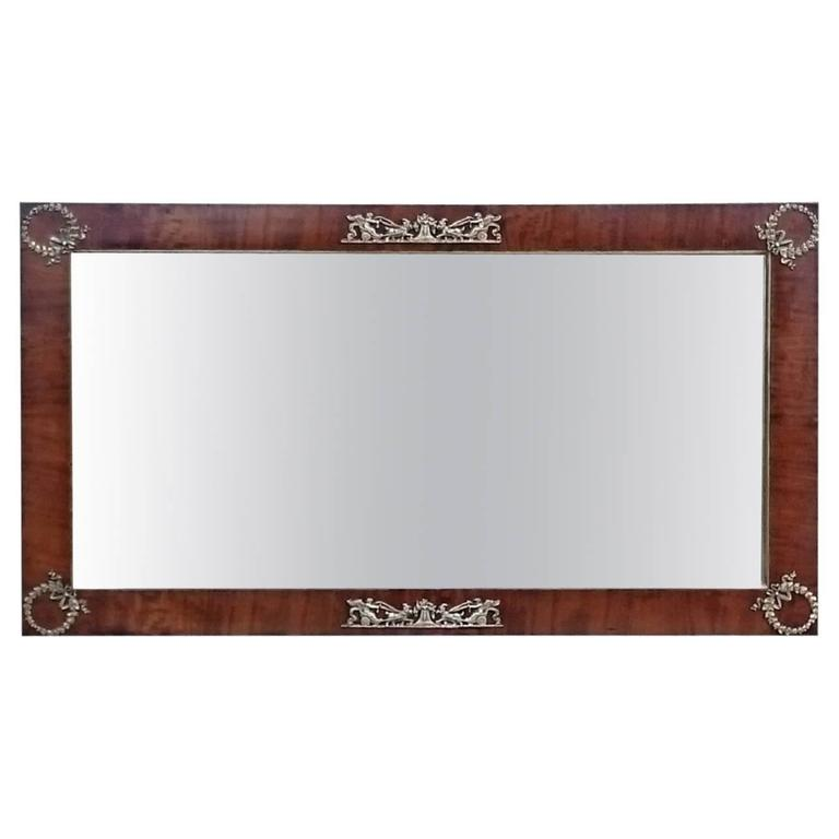 Antique French Empire Mirror For Sale