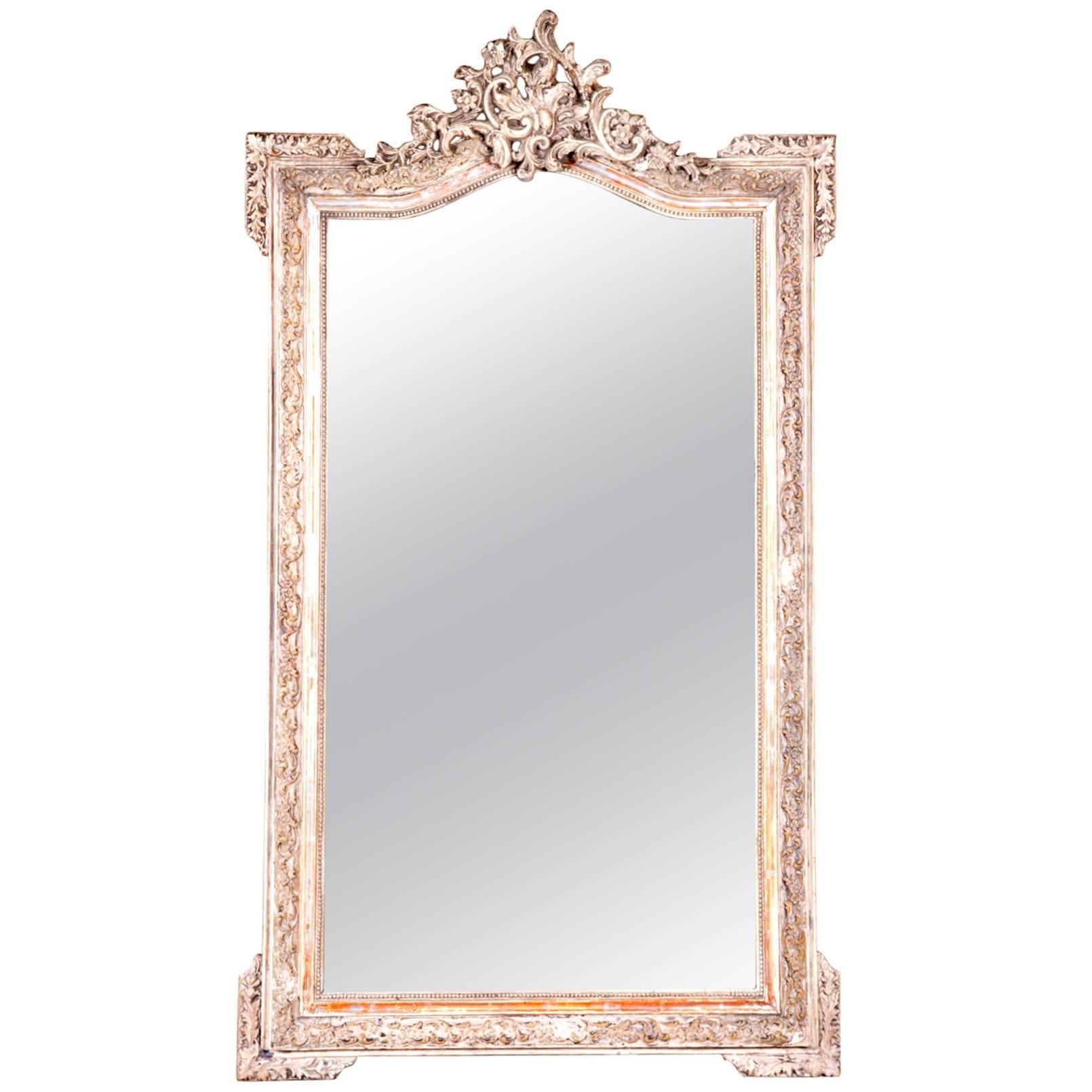 French Napoleon III Period Mirror