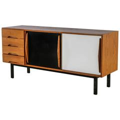 Charlotte Perriand Cansado Ash Sideboard, France, 1958