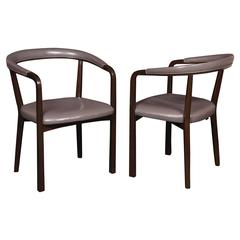 "Pair of Edward Wormley for ""Dunbar"" Armchairs"