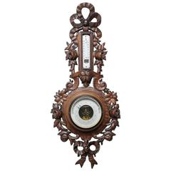 Old French barometer