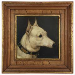 """Alfred Wheeler """"Bull Terrier, Sherborne Queen"""""""