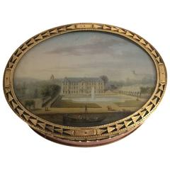 Louis XV Gold-Mounted Lacquer Snuff Box