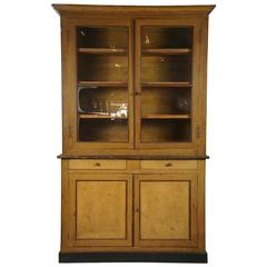 """Large """"Grain-Painted"""" French Cupboard"""