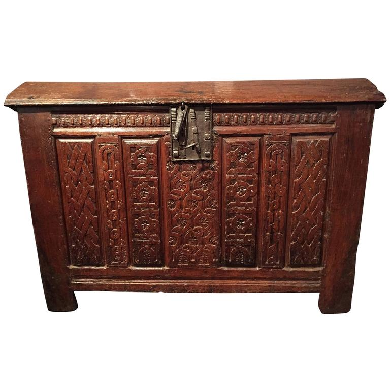 ... Irca Furniture By French Renaissance Oak Coffer Irca 1580 At 1stdibs ...