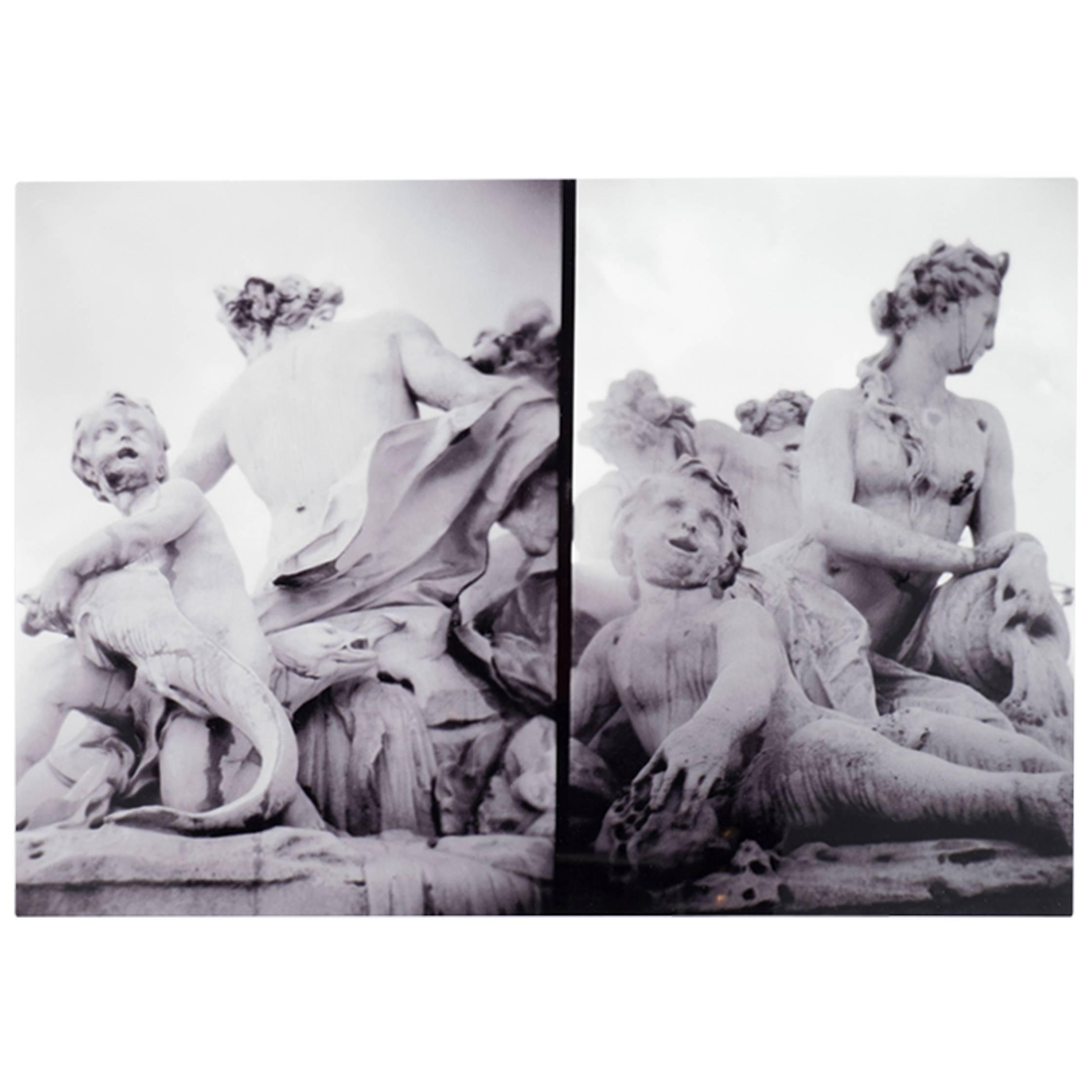 """""""La Fontaine"""" Paris 1999 Print by Stephen Elledge"""