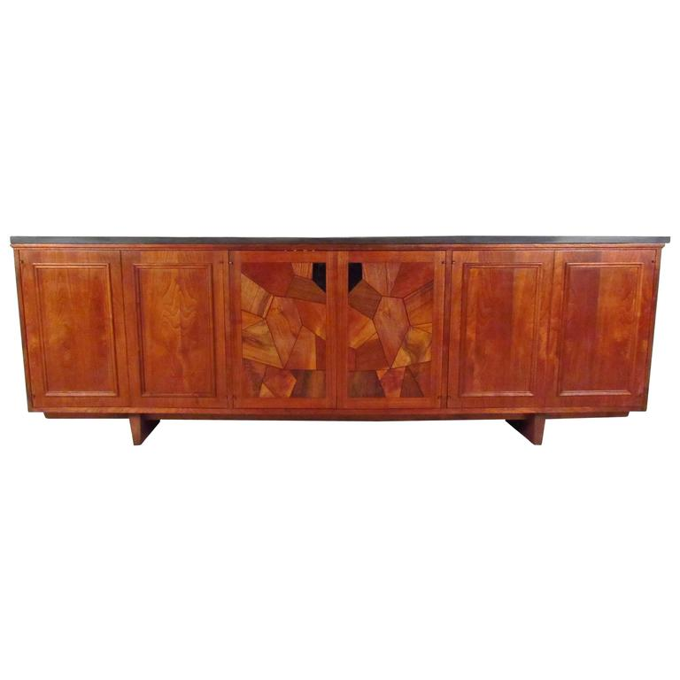 Rare Mid-Century Sideboard in the Style of Phillip Lloyd Powell