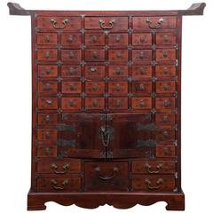 Chinese Multi Drawer Apothecary Chest