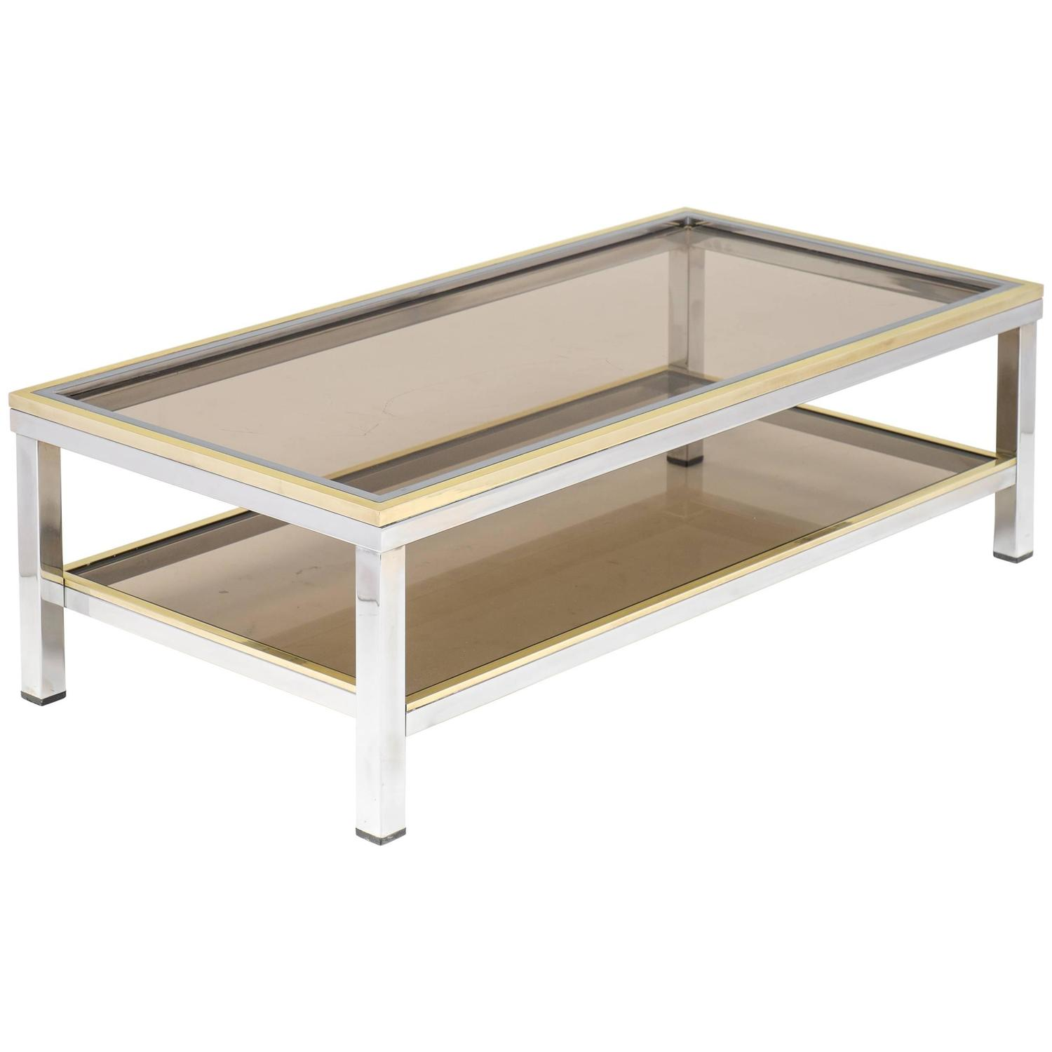 Romeo Rega Sliding Top Coffee Table at 1stdibs