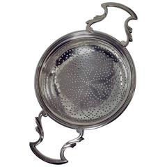 George 111 Silver Strainer, London, 1774, William Plummer