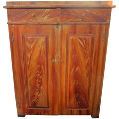 Faux Bois 19th Century Cabinet