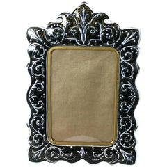 French Enamel Bronze Frame