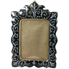 French Enamel Bronze Frame