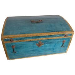 Dome-Top French Storage Chest