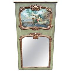 Diminutive Trumeau Mirror