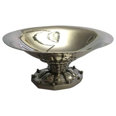 Georg Jensen Sterling Silver Footed Bowl or Ash Tray