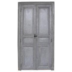 Pair of Antique Communication Doors