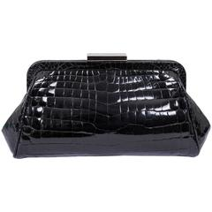 Tiffany & Co. Crocodile Morgan Clutch Bag