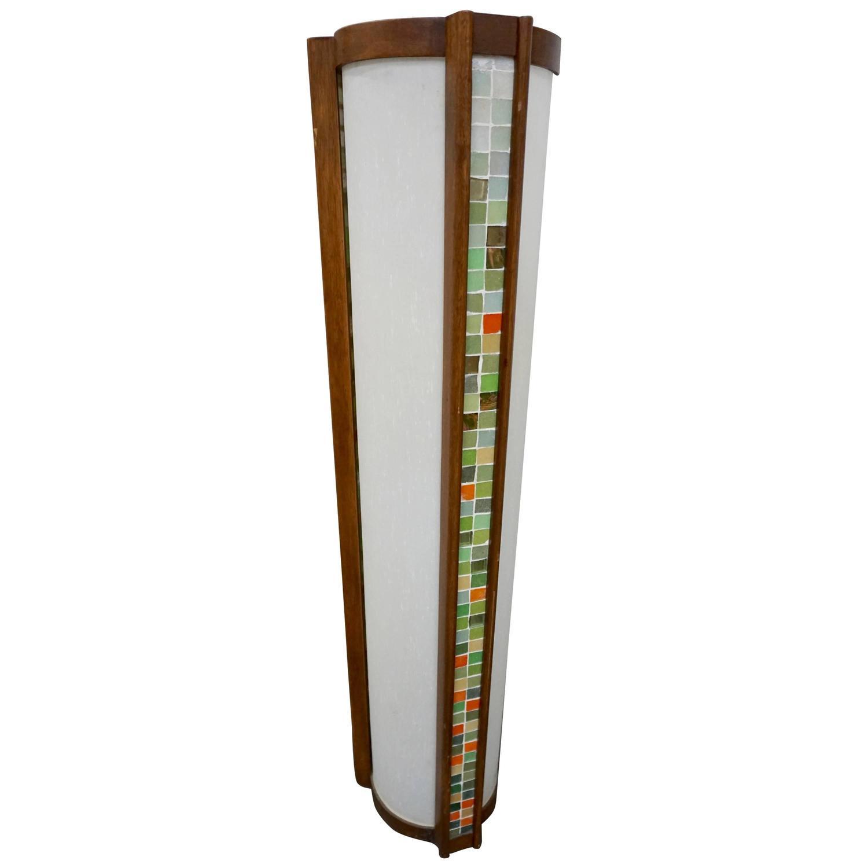 Interesting Mcm Floor Lamp At 1stdibs