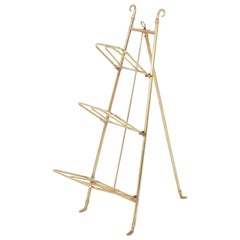 Brass Three Tiered Easel