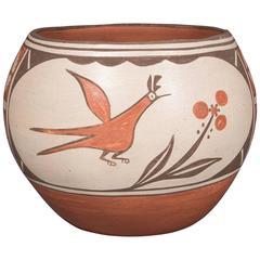 Southwestern American Indian Pottery Jar - Zia, 20th Century