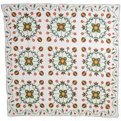 Original Pattern Applique Quilt