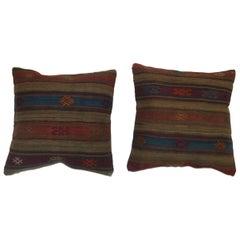 Pair of Turkish Kilim Pillows