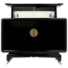 Art Deco Period Asian Motif Bar