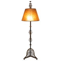 Spectacular Large Scale 1920's Spanish Revival Floor Lamp