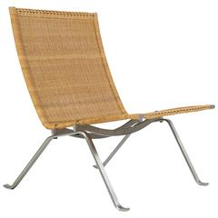 Poul Kjærholm Pk22 Wicker Chair, E. Kold Christensen