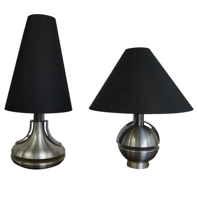 Pair Of 1970s Table Lamps For Sale At 1stdibs