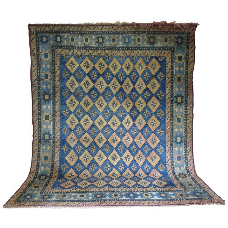 Vintage Moroccan Area Rug For Sale At 1stdibs: Large Vintage Moroccan Rug For Sale At 1stdibs