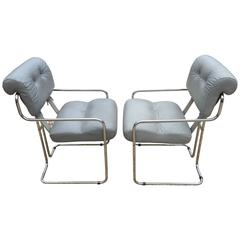 """Set of Two """"Tucroma"""" Chairs by Guido Faleschini"""