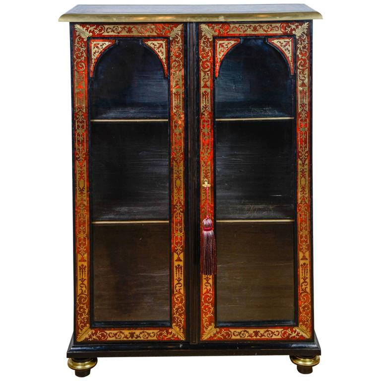18th Century Boulle Marquetry Bookcase