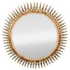 "Line Vautrin Mirror ""Soleil Torsade,"" France circa 1958"
