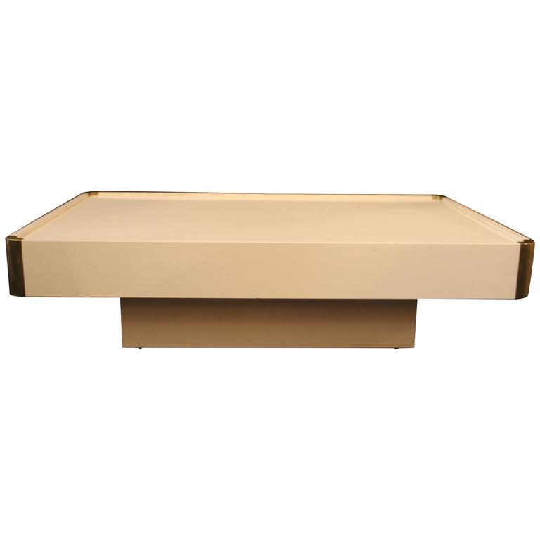 Coffee Table By Willy Rizzo 1928 2013 Circa 1970 Italy For Sale At 1stdibs