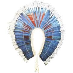 Kayapo Large Headdress with Natural Feathers