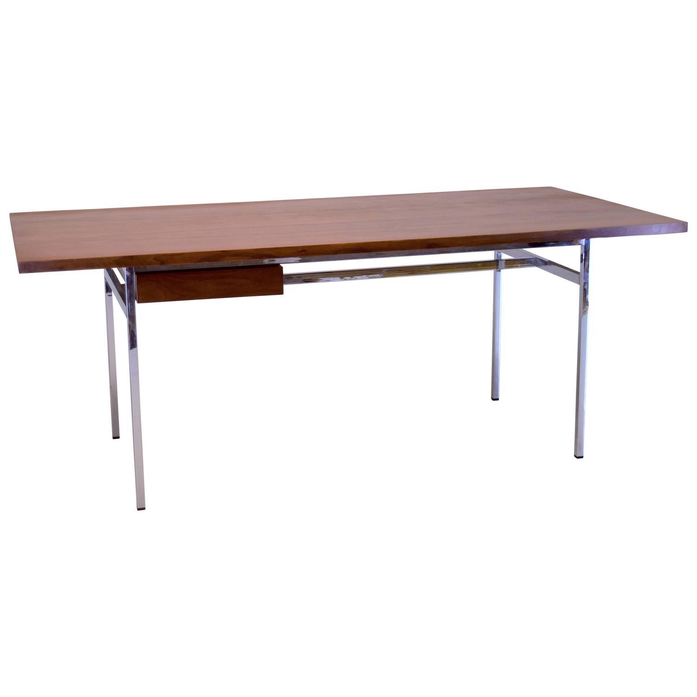 hans knoll modernist table desk circa 1952 at 1stdibs. Black Bedroom Furniture Sets. Home Design Ideas