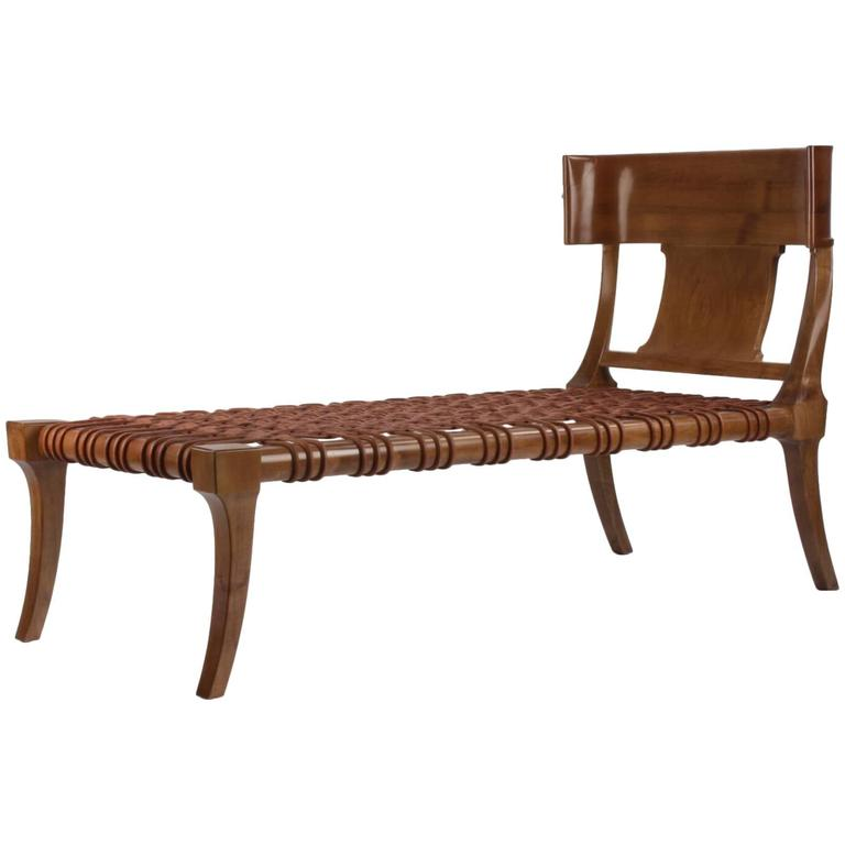 T. H Robsjohn-Gibbings for Saridis of Athens Couch/ Chaise Model #11 1