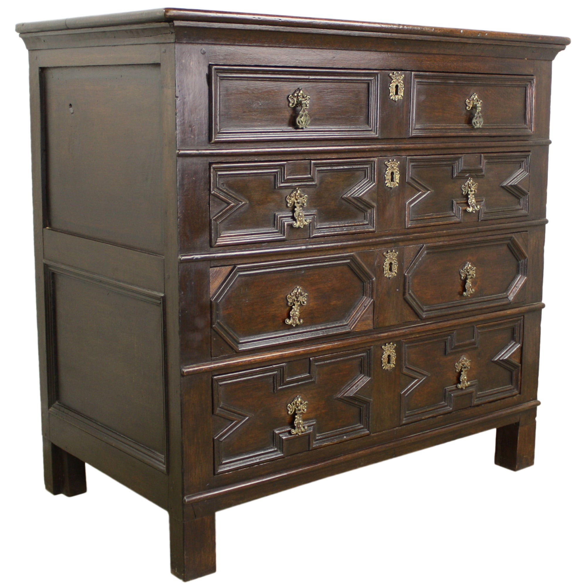 English Period Oak Chest of Drawers