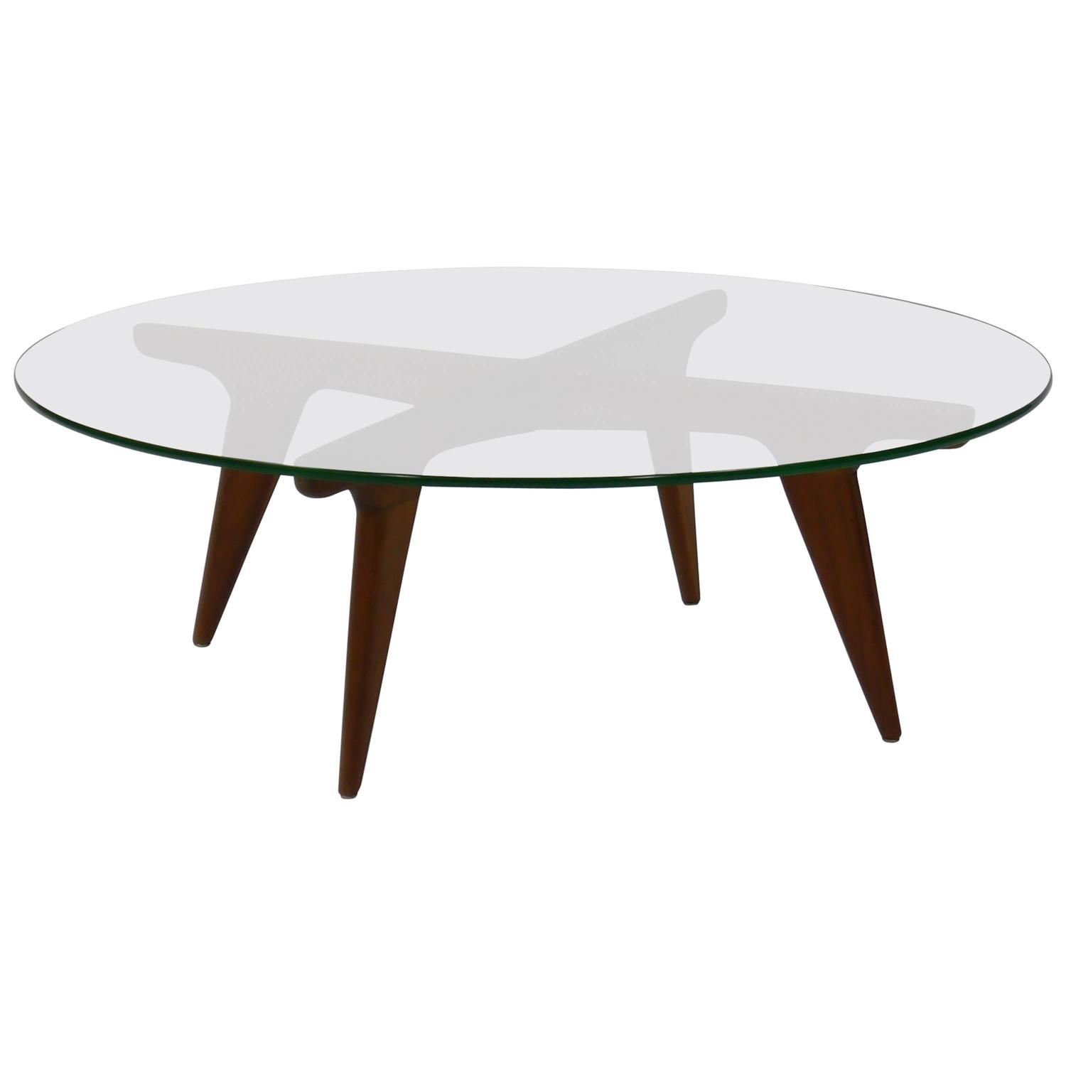 Coffee Table In The Manner Of Gio Ponti At 1stdibs