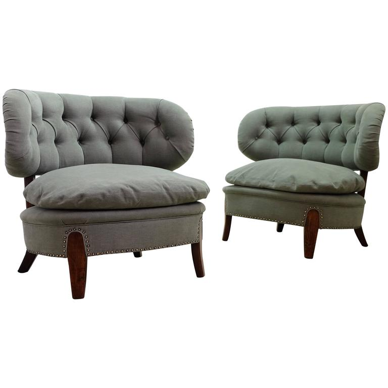 Otto Schulz Chairs For Boet Sweden For Sale At 1stdibs