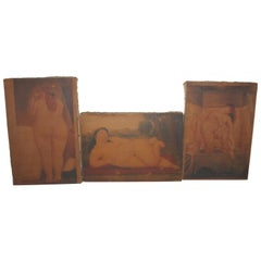 Collection of Fernando Botero Understudy Paintings