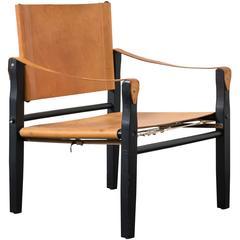 Vintage Midcentury Safari Chair
