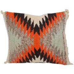 Small Navajo Weaving Eye Dazzler Pillow