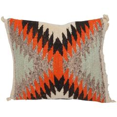 Small Navajo Weaving Eye Dazzler Pillow