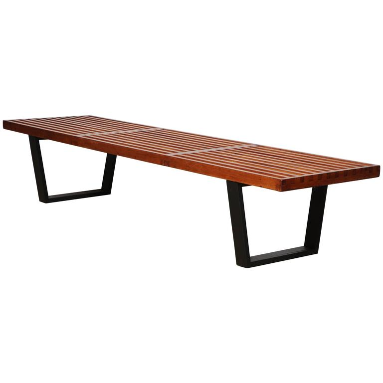 George Nelson For Herman Miller Platform Bench At 1stdibs