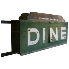 1930s, Neon Sign Dine