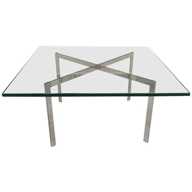 Barcelona table by mies van der rohe for knoll for sale at 1stdibs - Barcelona table knoll ...