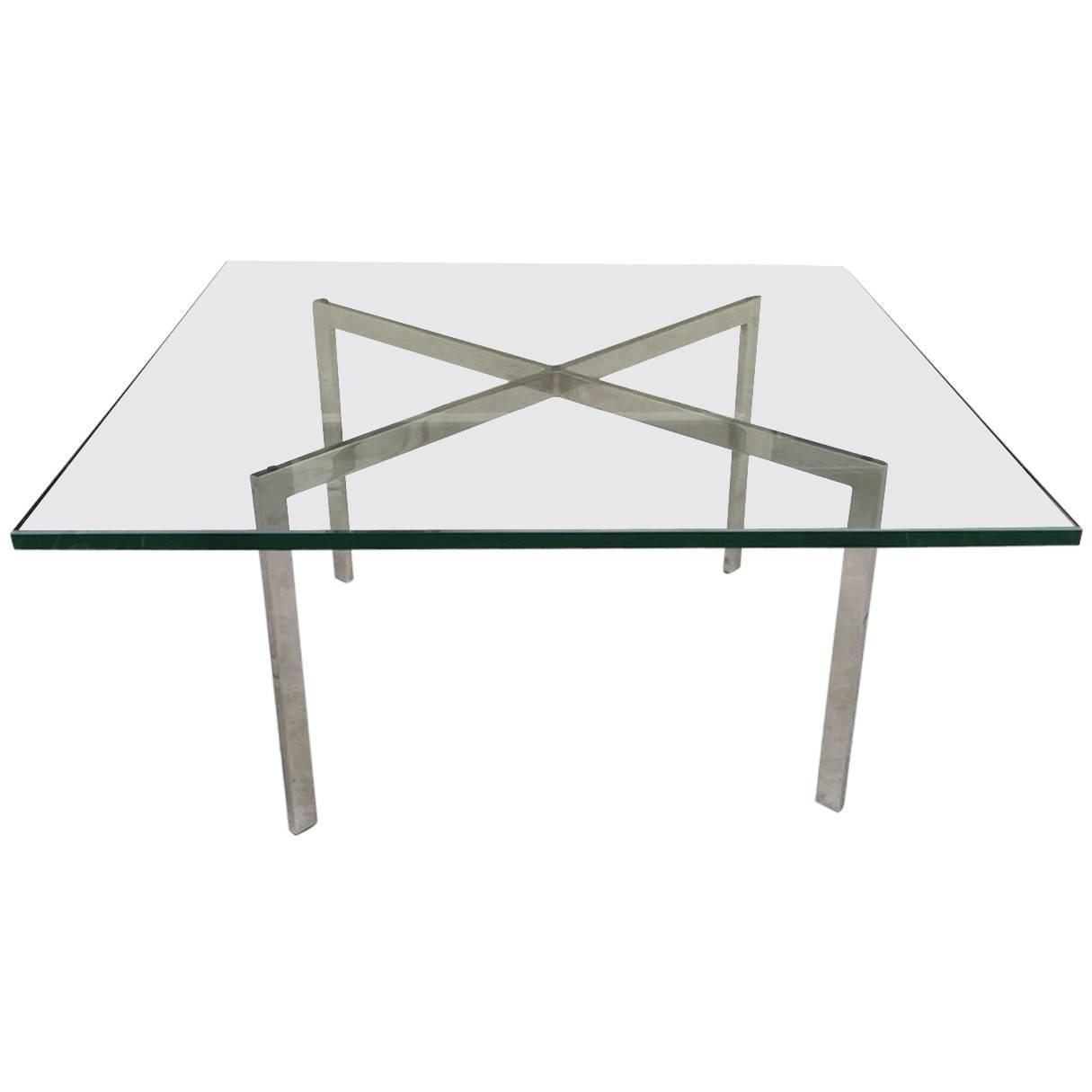 Barcelona table by mies van der rohe for knoll for sale at 1stdibs - Knoll barcelona table ...